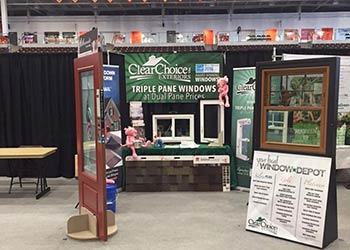 Clear Choice Exteriors Booth