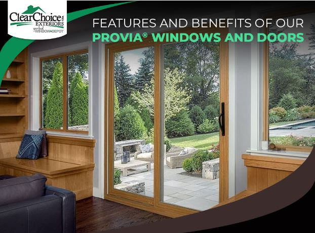 Features and Benefits of Our ProVia® Windows and Doors